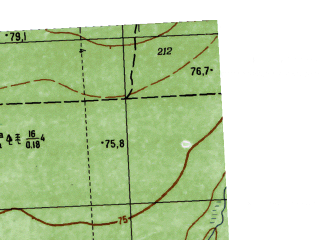Reduced fragment of topographic map ru--gs--025k--o41-032-1-1--N059-20_E063-30-00--N059-15_E063-37-30