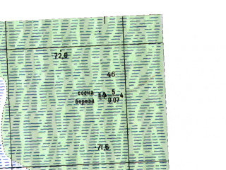 Reduced fragment of topographic map ru--gs--025k--o41-067-1-3--N058-15_E063-00-00--N058-10_E063-07-30; towns and cities Zhukovskoye