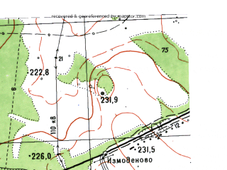 Reduced fragment of topographic map ru--gs--025k--o41-112-3-3--N056-45_E061-30-00--N056-40_E061-37-30; towns and cities Shipelovka