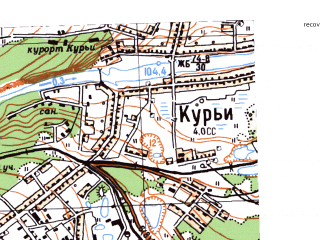 Reduced fragment of topographic map ru--gs--025k--o41-113-1-3--N056-55_E062-00-00--N056-50_E062-07-30; towns and cities Sukhoy Log