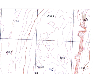Reduced fragment of topographic map ru--gs--025k--o47-144-1-4--N056-15_E101-37-30--N056-10_E101-45-00