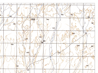 Reduced fragment of topographic map ru--gs--050k--h41-008-1--N032-00_E063-30--N031-50_E063-45
