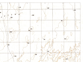 Reduced fragment of topographic map ru--gs--050k--h41-017-4--N031-30_E062-15--N031-20_E062-30; towns and cities Qarya-i-alikhan