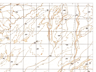 Reduced fragment of topographic map ru--gs--050k--h41-032-1--N031-20_E063-30--N031-10_E063-45