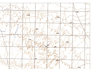 Reduced fragment of topographic map ru--gs--050k--h41-034-2--N031-20_E064-45--N031-10_E065-00