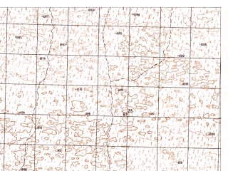 Reduced fragment of topographic map ru--gs--050k--h41-035-2--N031-20_E065-15--N031-10_E065-30