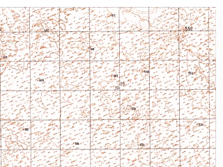 Reduced fragment of topographic map ru--gs--050k--h41-041-3--N030-50_E062-00--N030-40_E062-15
