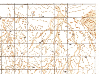 Reduced fragment of topographic map ru--gs--050k--h41-042-1--N031-00_E062-30--N030-50_E062-45