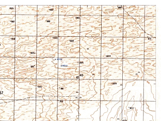 Reduced fragment of topographic map ru--gs--050k--h41-045-4--N030-50_E064-15--N030-40_E064-30