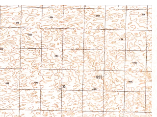 Reduced fragment of topographic map ru--gs--050k--h41-047-4--N030-50_E065-15--N030-40_E065-30