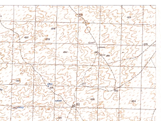 Reduced fragment of topographic map ru--gs--050k--h41-048-2--N031-00_E065-45--N030-50_E066-00