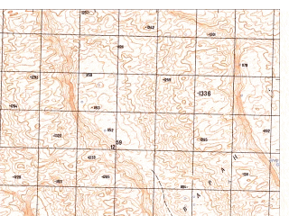 Reduced fragment of topographic map ru--gs--050k--h41-048-3--N030-50_E065-30--N030-40_E065-45