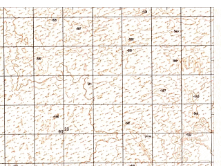 Reduced fragment of topographic map ru--gs--050k--h41-053-1--N030-40_E062-00--N030-30_E062-15