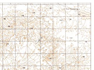 Reduced fragment of topographic map ru--gs--050k--h41-054-1--N030-40_E062-30--N030-30_E062-45