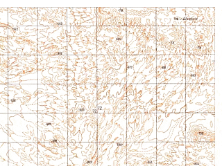 Reduced fragment of topographic map ru--gs--050k--h41-054-3--N030-30_E062-30--N030-20_E062-45