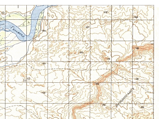 Reduced fragment of topographic map ru--gs--050k--h41-055-4--N030-30_E063-15--N030-20_E063-30; towns and cities Haji Sarwarkhan Kalay, Malakhan