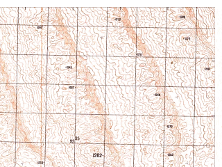 Reduced fragment of topographic map ru--gs--050k--h41-059-2--N030-40_E065-15--N030-30_E065-30