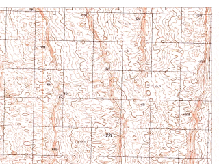 Reduced fragment of topographic map ru--gs--050k--h41-059-4--N030-30_E065-15--N030-20_E065-30