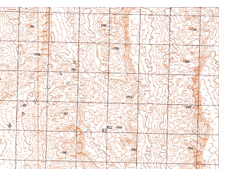Reduced fragment of topographic map ru--gs--050k--h41-060-1--N030-40_E065-30--N030-30_E065-45