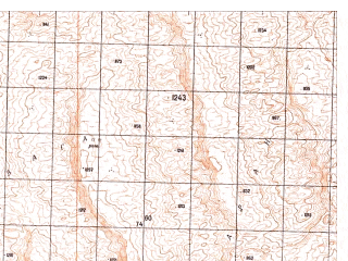 Reduced fragment of topographic map ru--gs--050k--h41-060-3--N030-30_E065-30--N030-20_E065-45