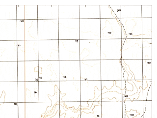 Reduced fragment of topographic map ru--gs--050k--h41-063-4--N030-10_E061-15--N030-00_E061-30