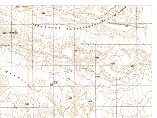 Reduced fragment of topographic map ru--gs--050k--h41-065-3--N030-10_E062-00--N030-00_E062-15