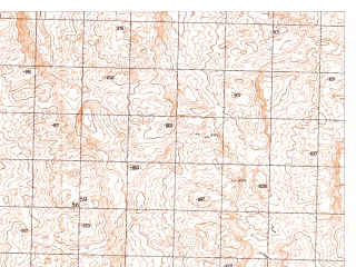 Reduced fragment of topographic map ru--gs--050k--h41-072-1--N030-20_E065-30--N030-10_E065-45