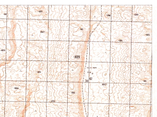 Reduced fragment of topographic map ru--gs--050k--h41-072-3--N030-10_E065-30--N030-00_E065-45
