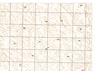Reduced fragment of topographic map ru--gs--050k--h41-083-3--N029-50_E065-00--N029-40_E065-15