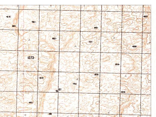 Reduced fragment of topographic map ru--gs--050k--h41-084-1--N030-00_E065-30--N029-50_E065-45
