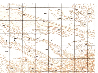Reduced fragment of topographic map ru--gs--050k--h41-089-2--N029-40_E062-15--N029-30_E062-30
