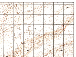 Reduced fragment of topographic map ru--gs--050k--h41-090-2--N029-40_E062-45--N029-30_E063-00