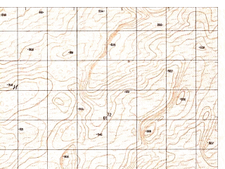Reduced fragment of topographic map ru--gs--050k--h41-090-3--N029-30_E062-30--N029-20_E062-45