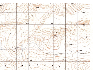 Reduced fragment of topographic map ru--gs--050k--h41-090-4--N029-30_E062-45--N029-20_E063-00