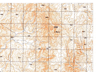 Reduced fragment of topographic map ru--gs--050k--h41-093-4--N029-30_E064-15--N029-20_E064-30