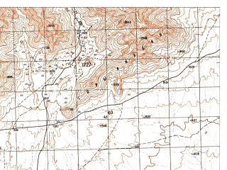 Reduced fragment of topographic map ru--gs--050k--h42-001-2--N032-00_E066-15--N031-50_E066-30