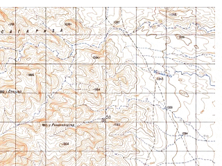 Reduced fragment of topographic map ru--gs--050k--h42-007-1--N032-00_E069-00--N031-50_E069-15