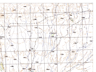 Reduced fragment of topographic map ru--gs--050k--h42-013-2--N031-40_E066-15--N031-30_E066-30