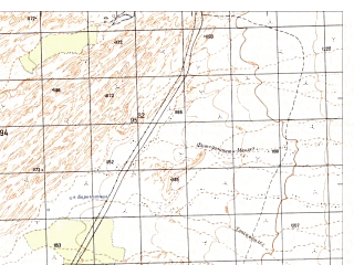 Reduced fragment of topographic map ru--gs--050k--h42-049-1--N030-40_E066-00--N030-30_E066-15