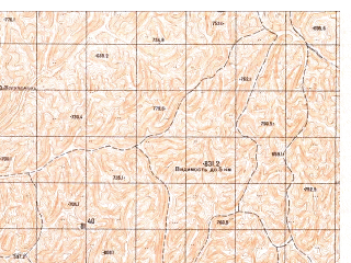 Reduced fragment of topographic map ru--gs--050k--i41-007-2--N036-00_E063-15--N035-50_E063-30