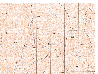 Reduced fragment of topographic map ru--gs--050k--i41-007-4--N035-50_E063-15--N035-40_E063-30