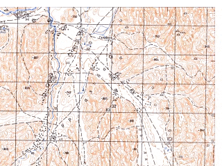 Reduced fragment of topographic map ru--gs--050k--i41-009-2--N036-00_E064-15--N035-50_E064-30