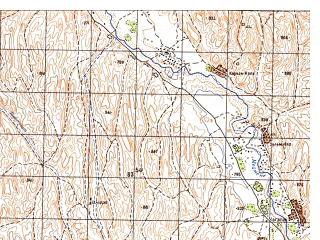 Reduced fragment of topographic map ru--gs--050k--i41-010-1--N036-00_E064-30--N035-50_E064-45