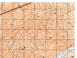 Reduced fragment of topographic map ru--gs--050k--i41-019-1--N035-40_E063-00--N035-30_E063-15
