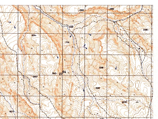 Reduced fragment of topographic map ru--gs--050k--i41-020-3--N035-30_E063-30--N035-20_E063-45