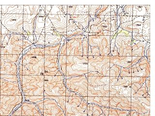 Reduced fragment of topographic map ru--gs--050k--i41-022-3--N035-30_E064-30--N035-20_E064-45