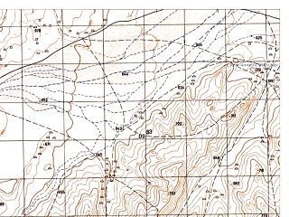 Reduced fragment of topographic map ru--gs--050k--i41-028-1--N035-20_E061-30--N035-10_E061-45; towns and cities Chalkhi