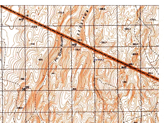 Reduced fragment of topographic map ru--gs--050k--i41-029-1--N035-20_E062-00--N035-10_E062-15