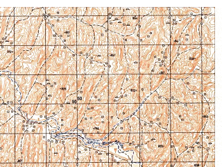 Reduced fragment of topographic map ru--gs--050k--i41-029-4--N035-10_E062-15--N035-00_E062-30