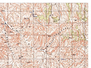 Reduced fragment of topographic map ru--gs--050k--i41-030-1--N035-20_E062-30--N035-10_E062-45